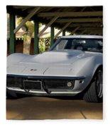 1969 Corvette Lt1 Coupe II Fleece Blanket