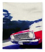 1969 Ford Falcon Futura Fleece Blanket