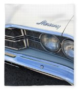 1969 Mercury Montego Mx Grille With Headlights And Logos Fleece Blanket
