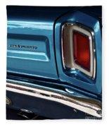 1969 Plymouth Road Runner Fleece Blanket