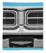 1969 Pontiac Gto  Fleece Blanket