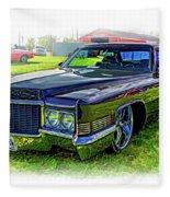 1970 Cadillac Deville - Vignette Fleece Blanket