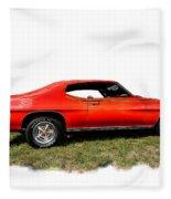 1970 Fake Gto_lemans Fleece Blanket