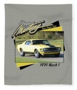 1970 Mach 1 Fellers Fleece Blanket