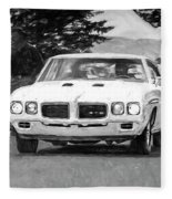 1970 Pontiac Gto Fleece Blanket