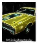 1971 Dodge Charger Superbee - Electric Fleece Blanket