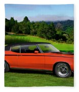 1972 Buick Gsx 455 Stage 1 Fleece Blanket