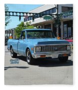 1972 Chevy C10 Bohall Fleece Blanket