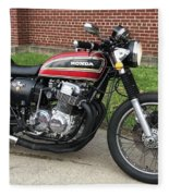 1973 Honda Cb750 Fleece Blanket