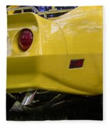 1976 Corvette Stingray Taillights Fleece Blanket