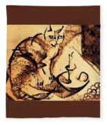 19899 Manuel Ruiz Pipo Fleece Blanket