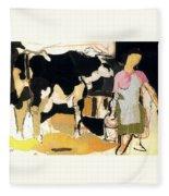 19933 Manuel Ruiz Pipo Fleece Blanket