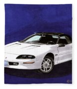 1995 Camaro Convertible Fleece Blanket