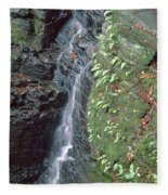 1b6353 Falls On Sonoma Mountain Fleece Blanket