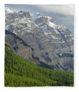 1m3625 Massive Ramparts Of Mt. Wilson Fleece Blanket