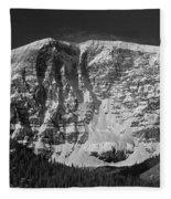 1m3769 Bw East Face Mt Kitchner Fleece Blanket
