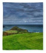1st Green Cape Cornwall Golf Club Fleece Blanket
