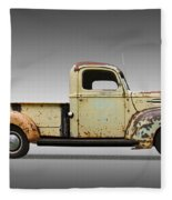 1946 Ford Pickup Truck Fleece Blanket