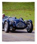 1950 Allard J2 Roadster Fleece Blanket