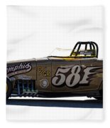 581 Bonneville Race Car Fleece Blanket