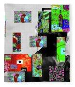 2-7-2015dabcdefghijklmnopqrtuvw Fleece Blanket