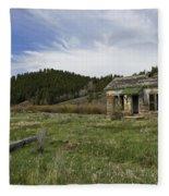 Abandoned House Fleece Blanket