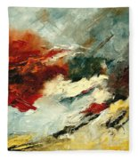 Abstract  9 Fleece Blanket