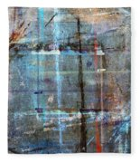Abstract Composition Fleece Blanket