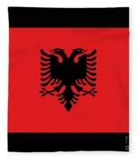 Albania Flag Fleece Blanket