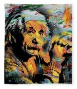 Albert Einstein.. - By Prar Fleece Blanket