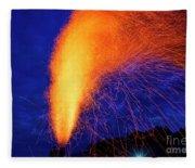 Amish Fireworks Fleece Blanket
