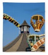 Amusement Park Fleece Blanket