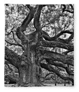 Angel Oak Fleece Blanket