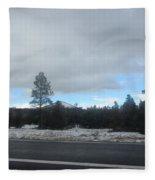 Arizona Mountain Landscape Fleece Blanket