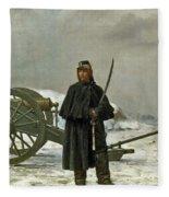 Artilleur De Faction Fleece Blanket