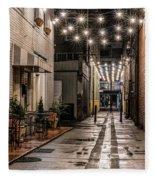 Bank Street Downtown Bristol Fleece Blanket