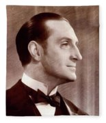 Basil Rathbone, Actor Fleece Blanket