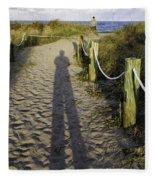 Beach Entry Fleece Blanket