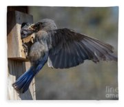 Beak To Beak Fleece Blanket