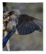 Beak To Beak Fleece Blanket
