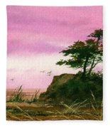 Beautiful Shore Fleece Blanket