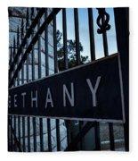Bethany Cemetery Fleece Blanket