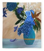 Blue Passion Fleece Blanket