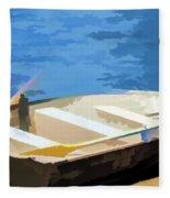 Boat 1 Fleece Blanket