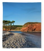 Budleigh Salterton - England Fleece Blanket