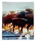Bull Run Fleece Blanket