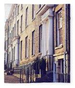 Bury St Edmunds Buildings Fleece Blanket