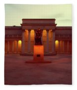 California Palace Of The Legion Of Honor Fleece Blanket