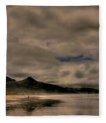 Cannon Beach Fleece Blanket