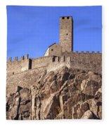 Castelgrande - Bellinzona Fleece Blanket